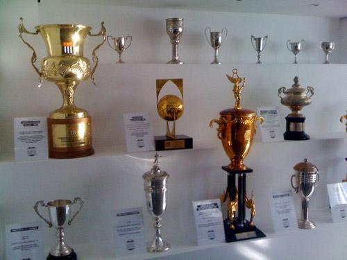 Sala De Trofeus Da Ponte Preta.Trofeus Do Futebol Sala De Trofeus Da Ponte Preta Sp