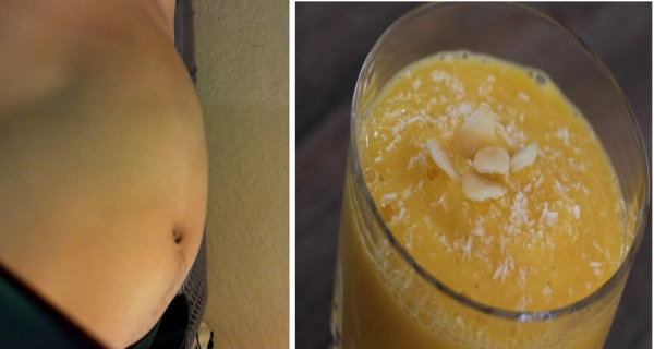 This Tasty Drink Helps Efficiently With Bloated Stomach and Lose Weight