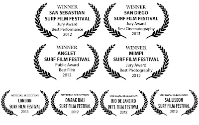 Awards Surffilm Intentio 2013