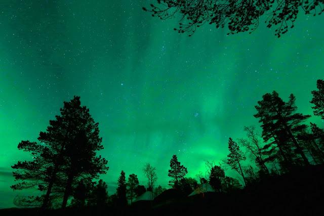 Aurora over Mestervik