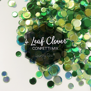4 Leaf Clover Confetti Mix