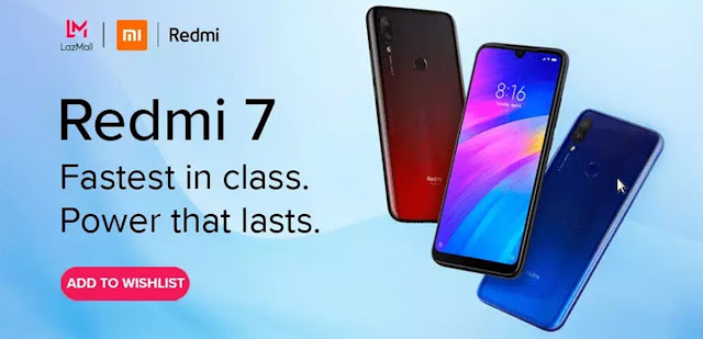 redmi 7 flash sale lazada