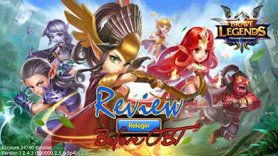 Brave Legend Heroes Awaken (CBT Gameplay)