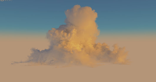 Making clouds with Phoenix FD