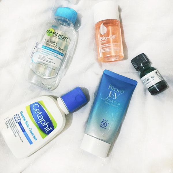 5 Skin Care Andalan Untuk Kulit Mudah Berjerawat