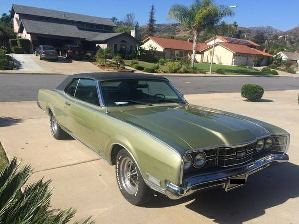 1969 Mercury Montego Hardtop For Sale