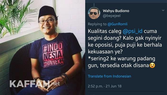 """Malangnya Guntur Romli,Sebar Hoax Atas Habiburokhman, Langsung """"Dihajar"""" Netizen"""