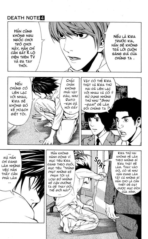 Death Note chapter 027 trang 4