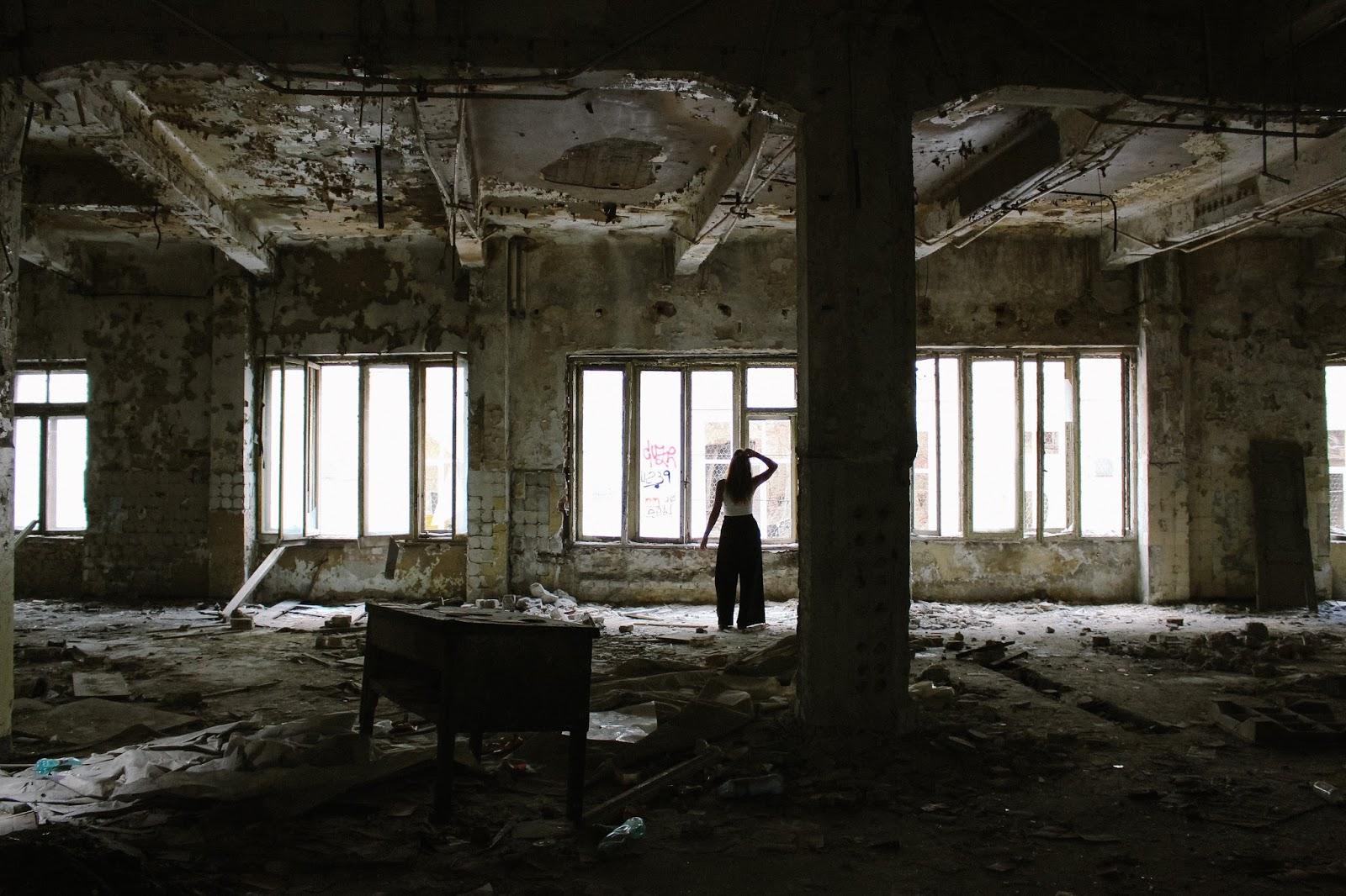 Palacio Abandonado en Bucarest