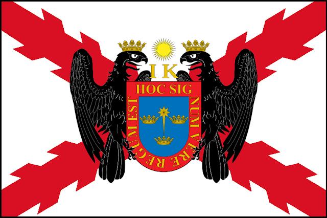 Bandera del Estado Peruano diseñada por Cabeleira Santoro