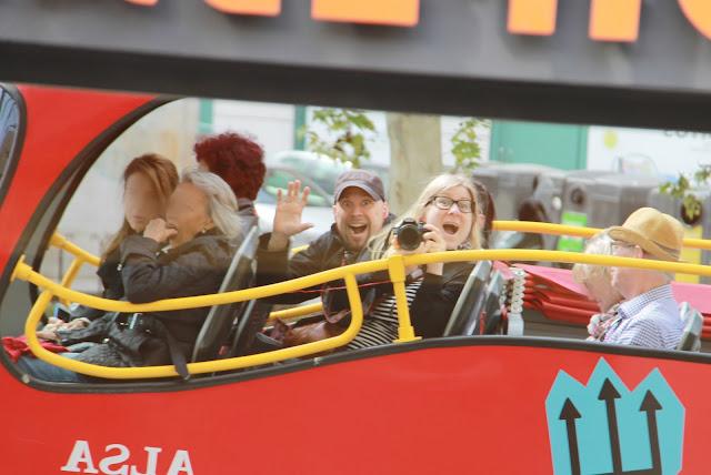 Madrid turistibussit: Hop on hop off on kätevä tapa nähdä kaupunkia raskaana