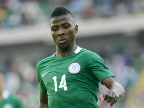 Iheanacho thi đấu cho tuyển U17 Nigeria