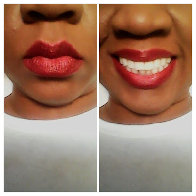 e.l.f. Cosmetics Matte Lip Color in Rich Red & Moisturizing Lipstick in Red Carpet Review www.toyastales.blogspot.com #ToyasTales #redlips #elfcosmetics #beauty #makeup