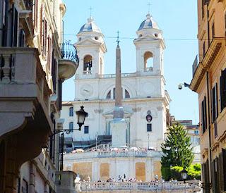 praca espanha igrejas guia de roma portugues - Praça de Espanha em Roma: arte e arquitetura Barroca