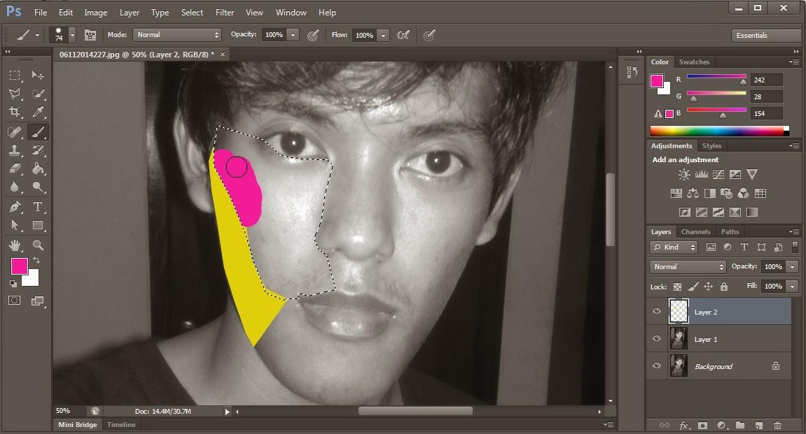 Tutorial Cara Mudah Membuat WPAP dengan Photoshop CS6