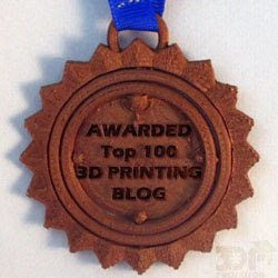 3D Printing Blog Badge