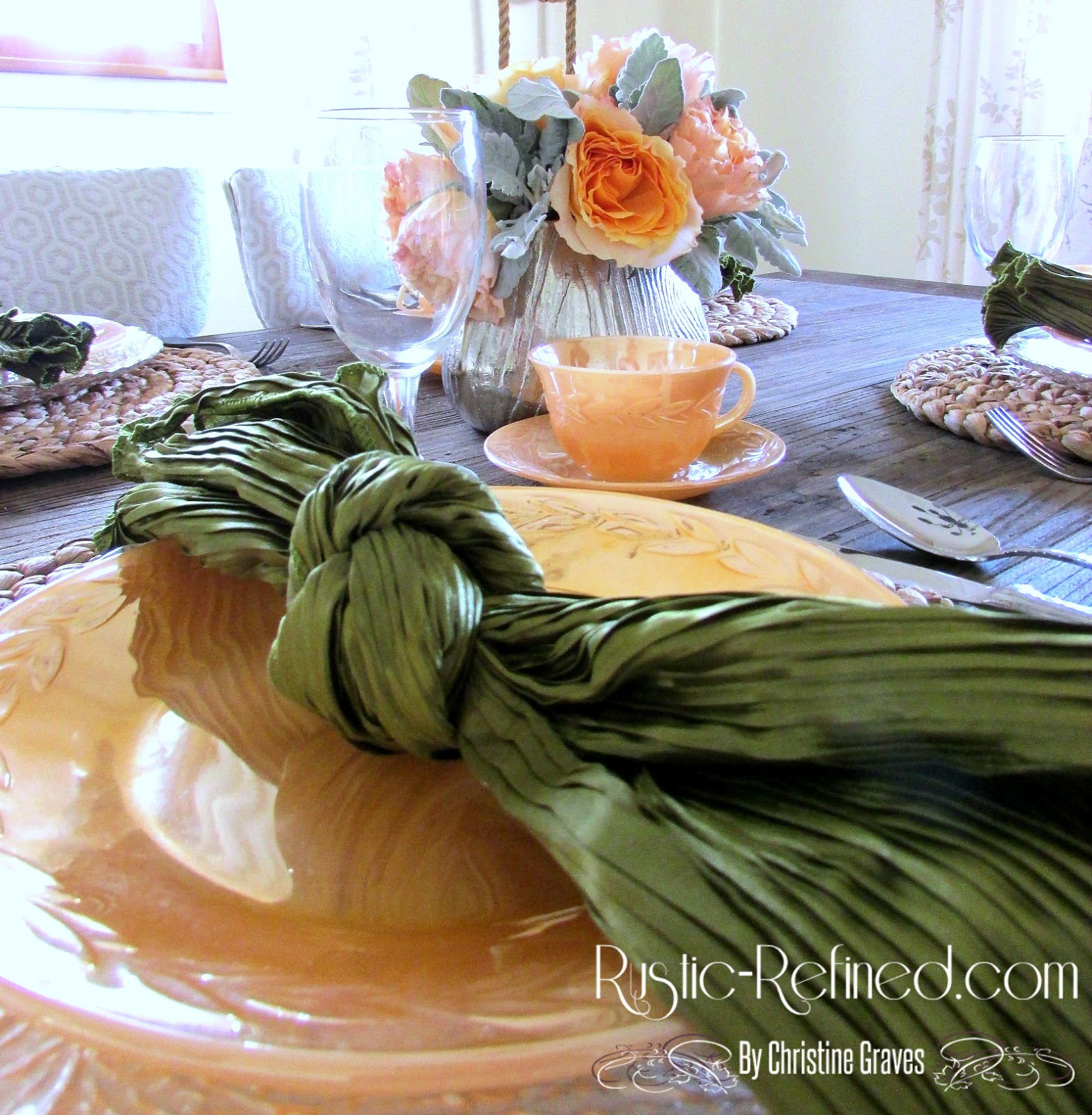 Mixing Old World Style Breakfast Tablescape With Rustic Style Rustic Amp Refined
