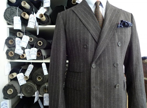 2b6c902016ff I think it's safe to say, though, chalk stripe like pinstripe works best as  a suit rather than a jacket on its own. Don't ask me why.