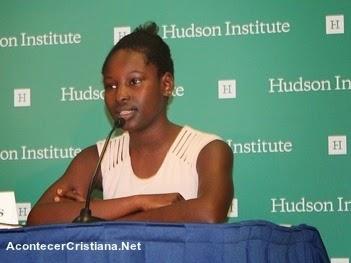niña sobreviviente a ataque de Boko Haram