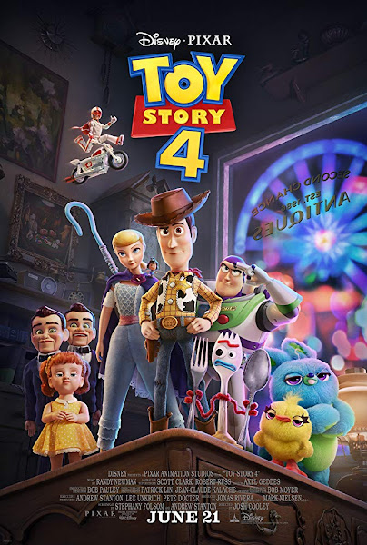 Poster of Toy Story 4 (2019) Dual Audio [Hindi-Cleaned] 720p BluRay ESubs Download