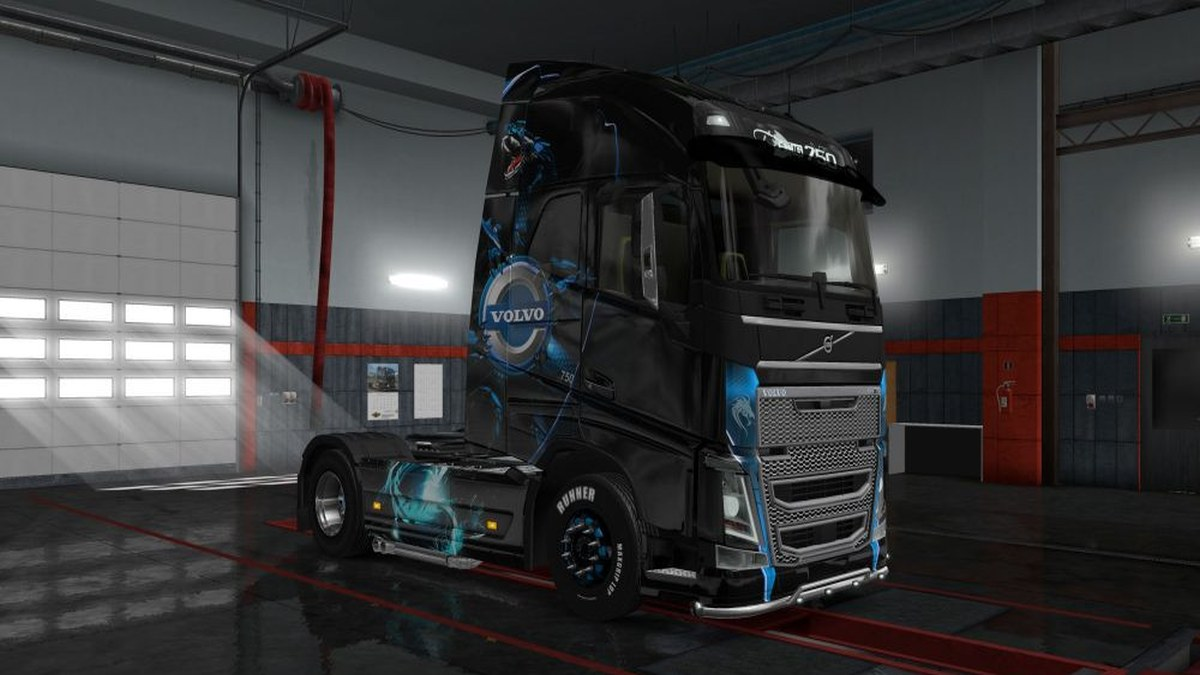 Dragon Skin for Volvo 2013