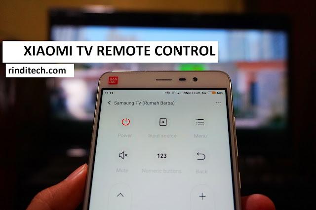 Cara Setting Smartphone Xiaomi Menjadi Remote TV (Redmi Note 3)