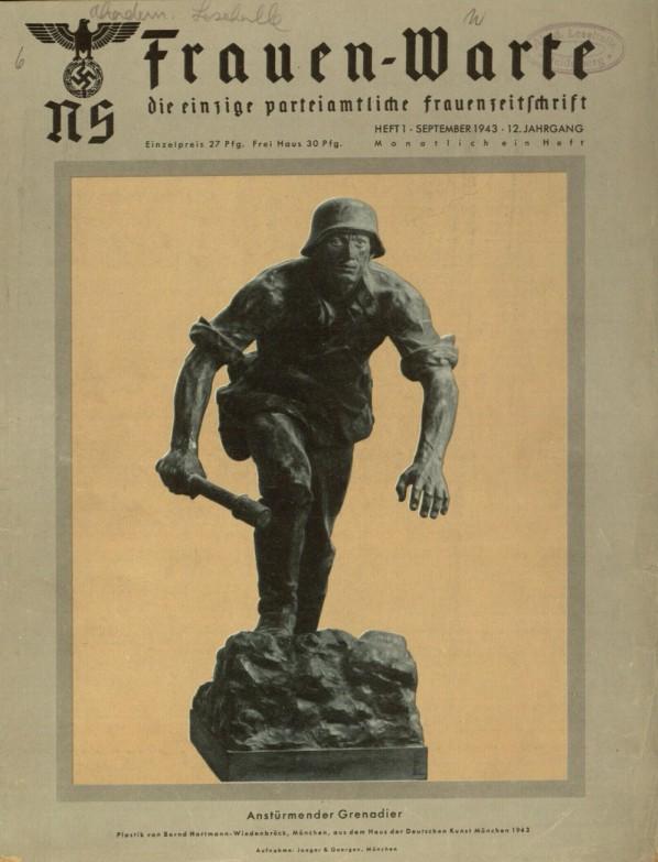 Nazi Magazine For Women Ns Frauen Warte Covers From 1941