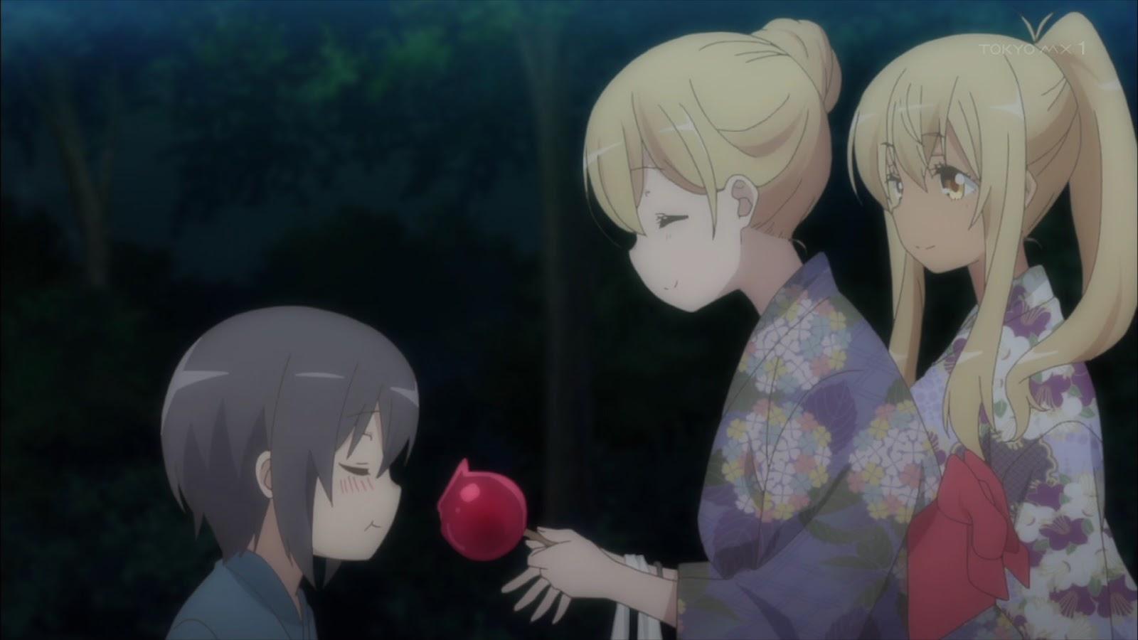 Sunoharasou no Kanrinin-san Episódio 8 - Cenas e gifs
