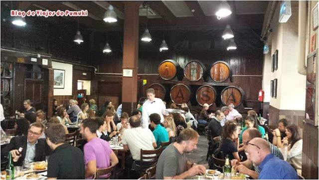 Restaurante con Solera en Madrid, Casa Mingo. Blog de viajes por Madrid