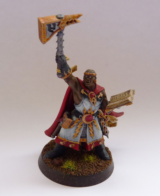 Excelsior Warpriest from Warhammer Quest: Silver Tower.