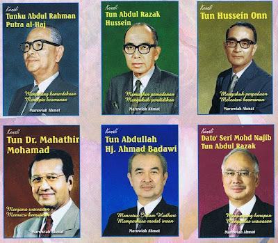 Image result for nama perdana menteri malaysia