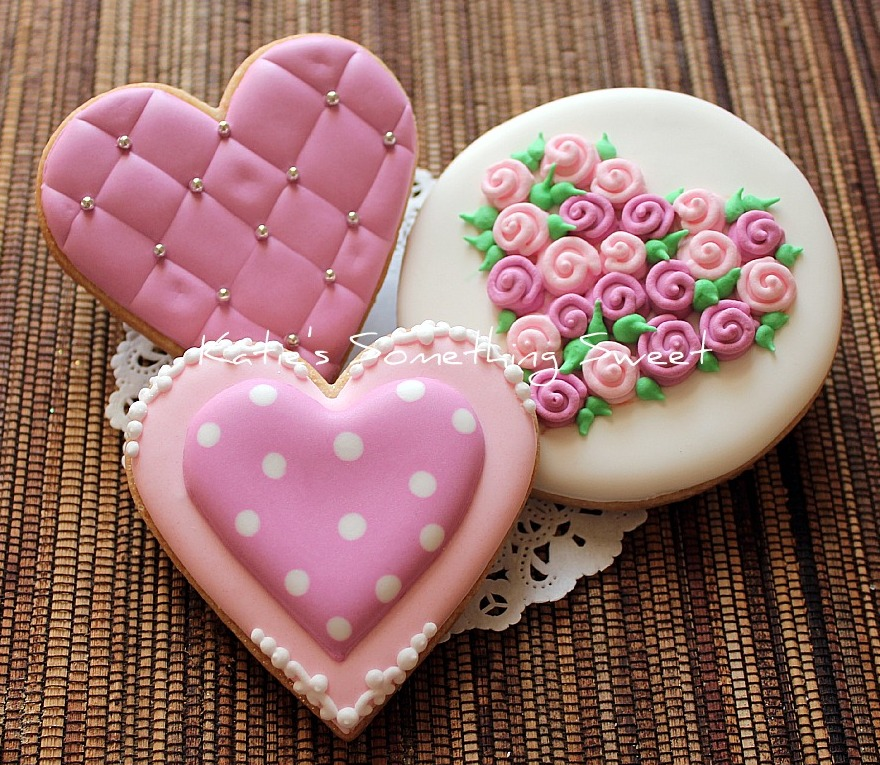 {Katie's Something Sweet}: Valentine's Day Cookies