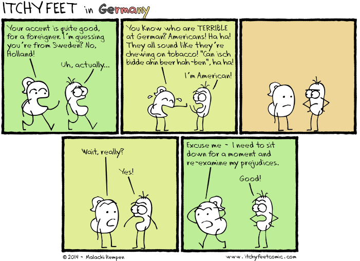 Itchy Feet: Foreign Accents