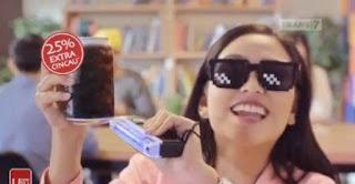 Nama Bintang Pemeran Iklan Cincau Cap Panda terbaru