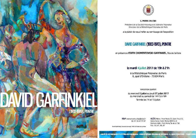 Populaires Véronique Chemla: David Garfinkiel (1902‐1970), peintre ZK89