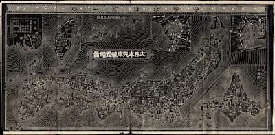 01 明治38年(1905)大日本汽車線路略図