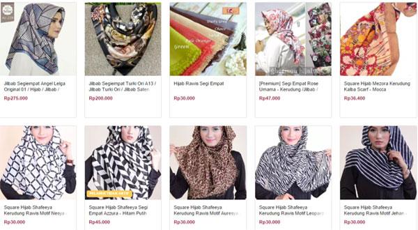 Memakai Fashion Hijab Syar'i