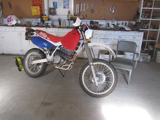 Quest Of The Man Cave Xr650l Acerbis 5 8 Gas Tank Project