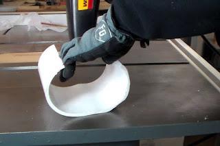 Pipa PVC Menjadi Lembaran RATA / Flat