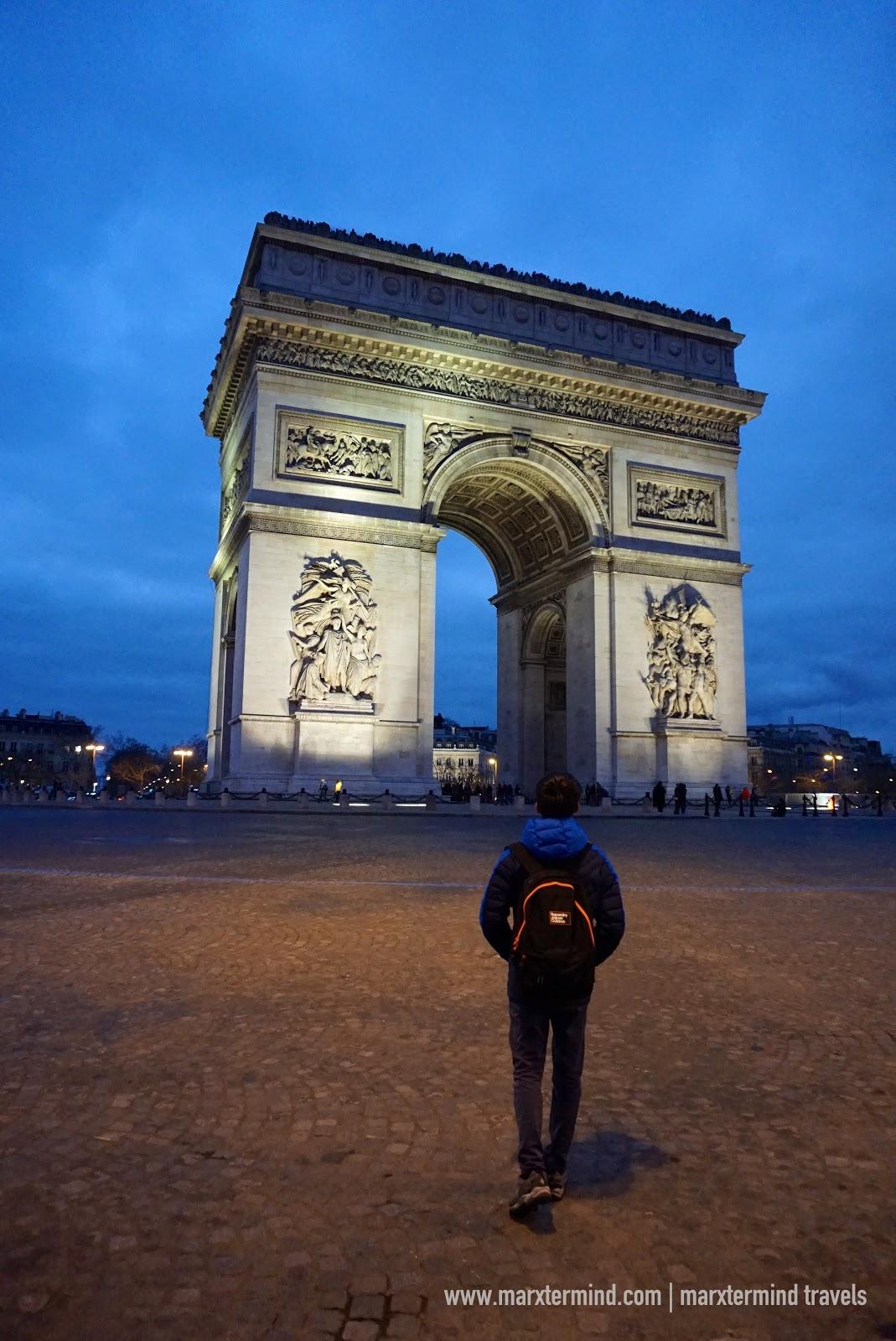 marxtermind at Arc de Triomphe