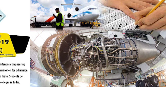 Admission Open Aircraft Maintenance Engineering 2019 (JEE-AME)