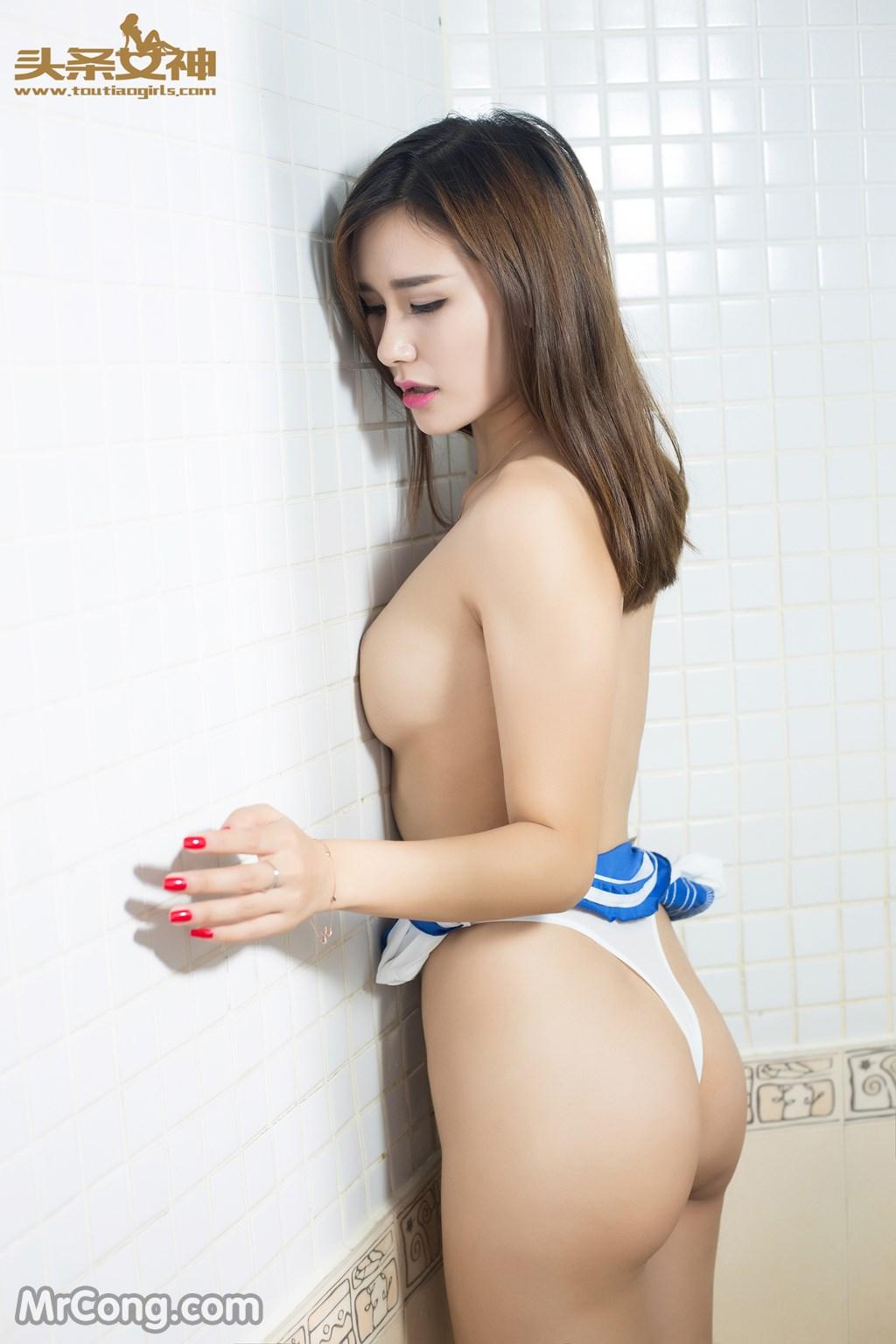 Image MrCong.com-TouTiao-2016-08-17-Si-Tong-1-006 in post TouTiao 2016-08-17: Người mẫu Si Tong (斯童) (23 ảnh)