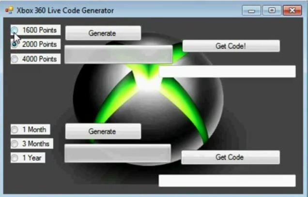 Free xbox live codes generator: no survey (updated.