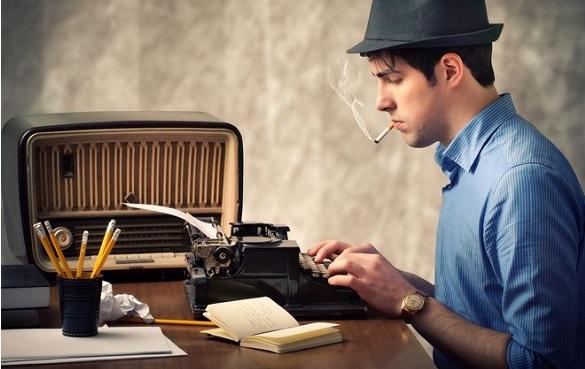 Joven escritor
