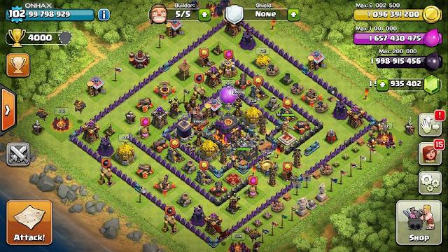 Flamewall - Clash of Clans Mod Apk Unlimited Gems
