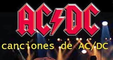 canciones de ac/dc para guitarra
