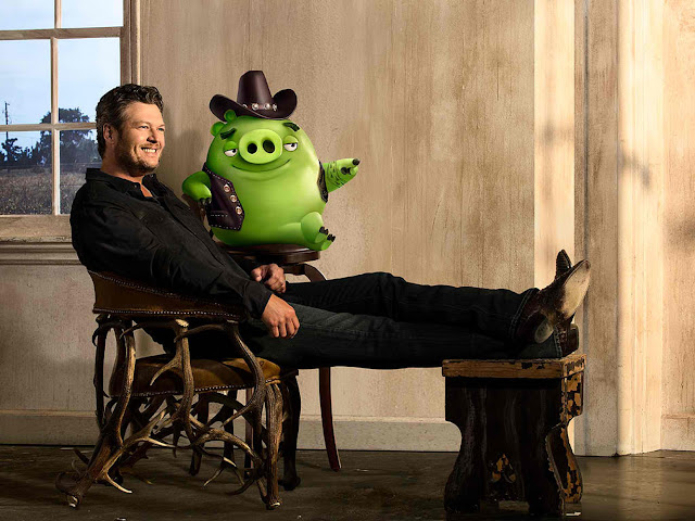 angry birds soundtrack blake shelton friends