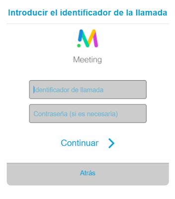 Acceso a la conferencia por medio del navegador en modo secure img