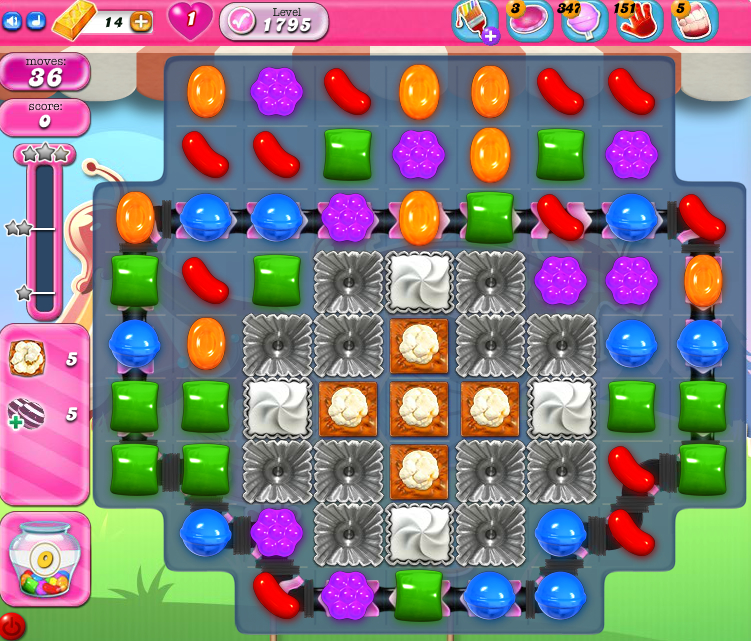 Candy Crush Saga 1795