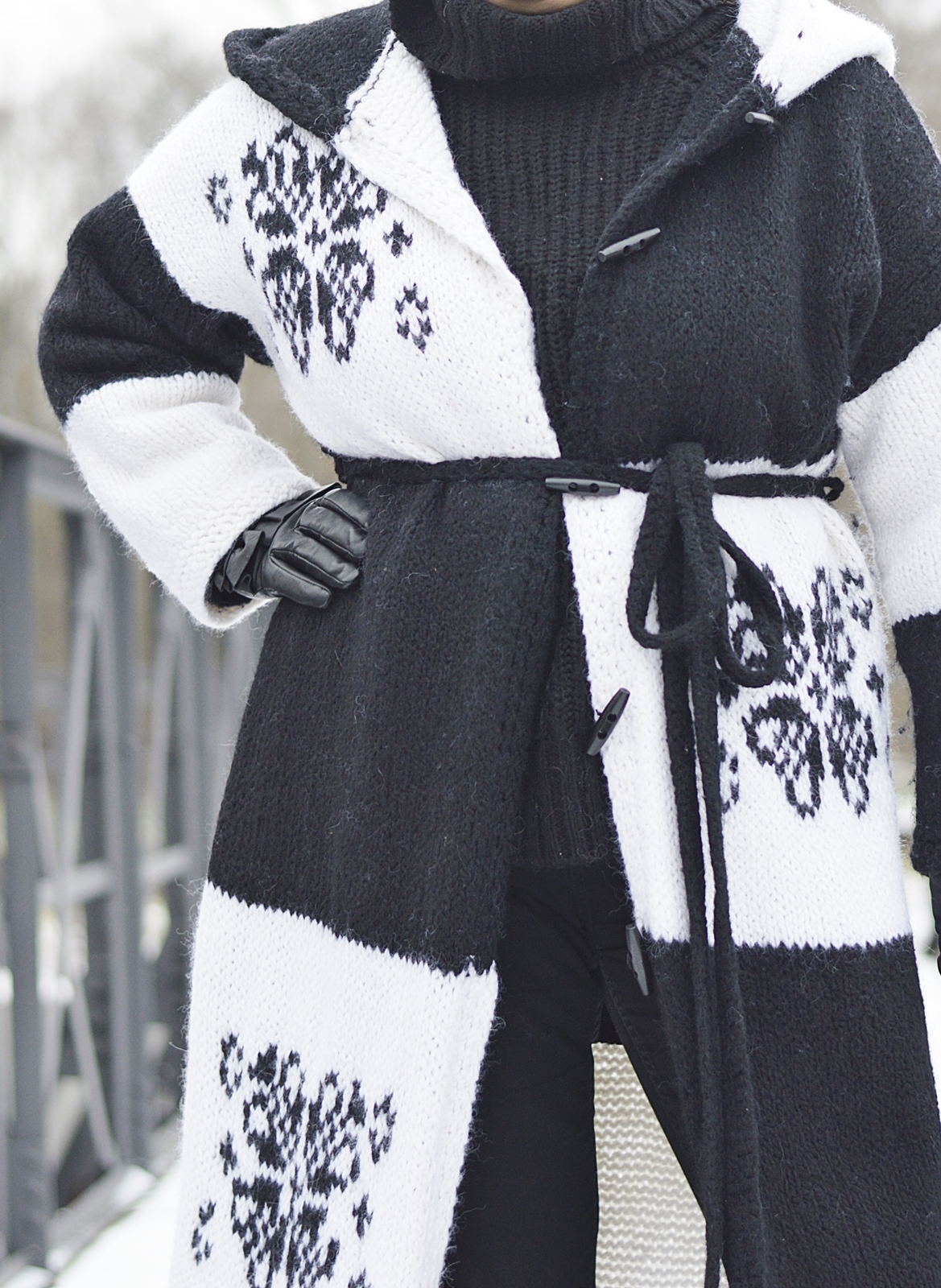 Winter woolen coat, hand made coat, bysoniadziech